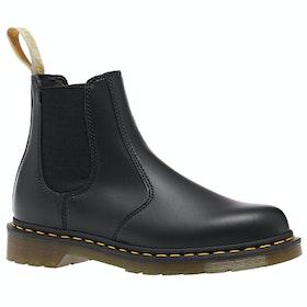 Dr Martens Vegan 2976 Felix Rub Off Chelsea Boots - Black