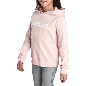 Barbour International Apex Hoodie Girl's Pullover Hoody - Cameo Pink