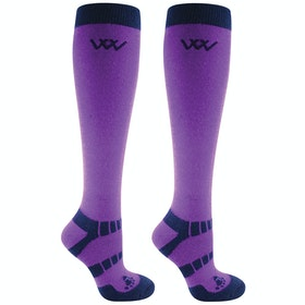 Riding Socks Woof Wear 2 Pack Winter - Ultra Violet Navy