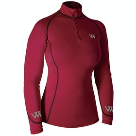 Woof Wear Performance Riding Colour Fusion Top - Shiraz
