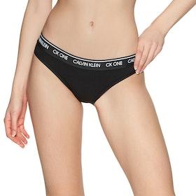 Brief Femme Calvin Klein Bikini CK One - Black