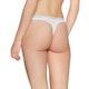 Calvin Klein 3 Pack White Waistband Thong