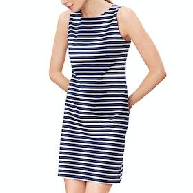 Joules Riva Dress - Navy Cream Stripe