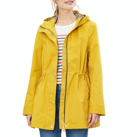 Joules Shoreside Women's Waterproof Jacket - Antique Gold