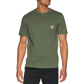 Carhartt Pocket 半袖 T シャツ - Dollar Green