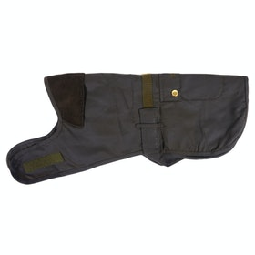 Barbour 2 In 1 Wax Dog Jacket - Olive