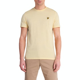 Lyle & Scott Vintage Plain Herren Kurzarm-T-Shirt - Buttercream