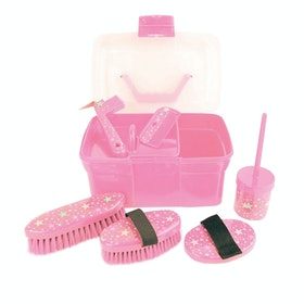 Lincoln Star Pattern Grooming KIt - Pink