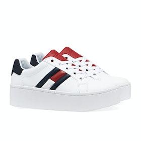 Tommy Jeans Icon Damen Schuhe - Rwb