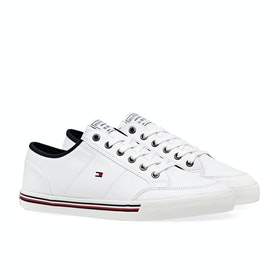 Scarpe Tommy Hilfiger Core Corporate Textile - White