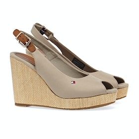 Tommy Hilfiger Iconic Elena Sling Women's Sandals - Stone