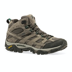 Merrell Moab 2 Leather Mid GTX Walking Boots - Boulder