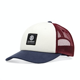 Element Icon Mesh Boys Cap - Oxblood Red