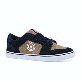 Element Youth Heatley Boys Shoes - Navy Breen