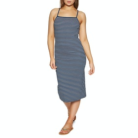 RVCA Bianca Dress - Federal Blue