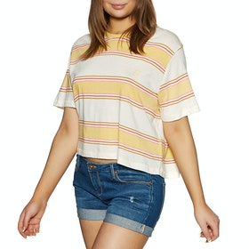 Billabong Soul Babe 2 Womens Short Sleeve T-Shirt - Pineapple