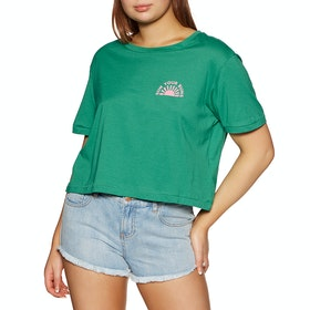 Billabong Buns All Day Womens Short Sleeve T-Shirt - Emerald