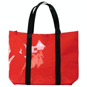 Сумка для шопинга Rains Transparent Tote - Glossy Red