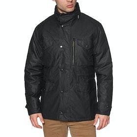 Barbour Sapper Mens Wax Jacket - Black