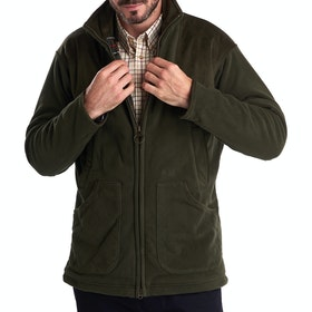 Barbour Dunmoor Mens Fleece - Olive