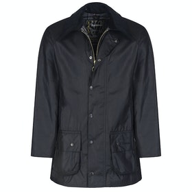 Barbour Beaufort Mens Wax Jacket - Black