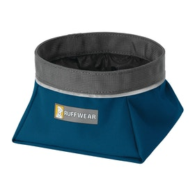 Ruffwear Quencher Medium Hunde-Fressnapf - Blue Moon