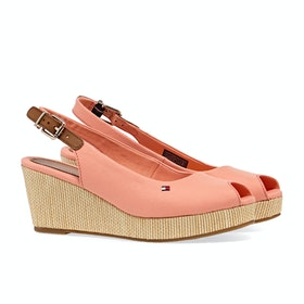 Tommy Hilfiger Iconic Elba Sling Women's Sandals - Island Coral