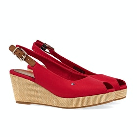 Tommy Hilfiger Iconic Elba Sling Women's Sandals - Primary Red