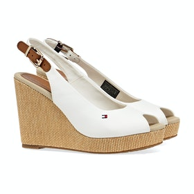 Tommy Hilfiger Iconic Elena Sling Women's Sandals - Ivory