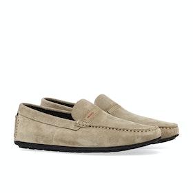 BOSS Dandy Moc Herren Dress Shoes - Light Beige