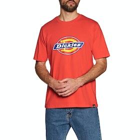 Dickies Horseshoe Men Kurzarm-T-Shirt - Fiery Red