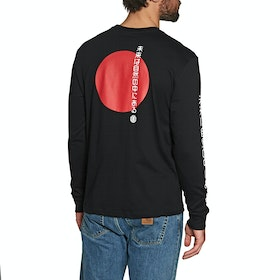 Element Takashi Long Sleeve T-Shirt - Flint Black