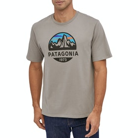 Patagonia Fitz Roy Scope Organic T Shirt - Feather Grey