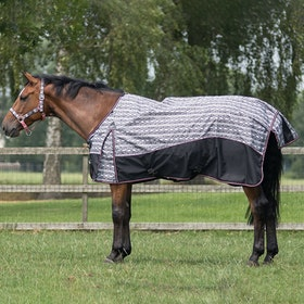 QHP Collection Lightweight Turnout Rug - Snake