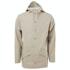 Rains Classic Waterproof Jacket - Beige