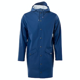 Rains Long Jacke - Klein Blue