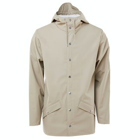 Rains Classic Waterproof Jacket - Beige