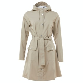 Rains Curve Ladies Jacket - Beige