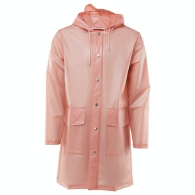 Rains Hooded Coat Damen Jacke - Foggy Coral