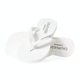 Sandalias Calvin Klein Flip Flops - Pvh Classic White