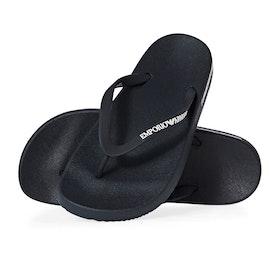 Emporio Armani Rubber Beach Sandals - Navy Navy