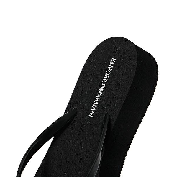 Emporio Armani Classic Pvc Women's Sandals