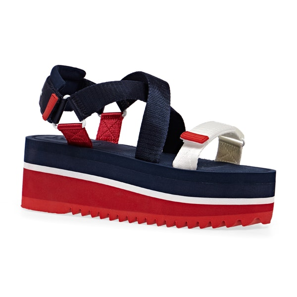 Tommy Jeans Pop Color Flatform Womens サンダル