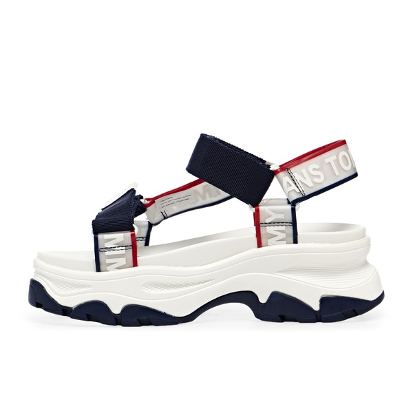 Tommy Jeans Pop Color Hybrid Kvinner Sandaler