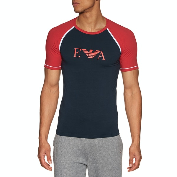 T-Shirt a Manica Corta Emporio Armani Crew Neck Cotton