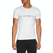 Emporio Armani Crew Neck Cotton Kortærmede T-shirt