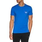 Emporio Armani Stretch Cotton Crew Neck Short Sleeve T-Shirt
