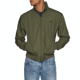 Fred Perry Re Issues Made In England Harrington Jacket - Olive