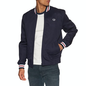 Fred Perry Re Issues Made In England Bomber Jacket - Navy