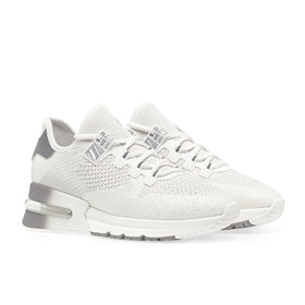 ASH Krush Glitter Women's Shoes - White Silver